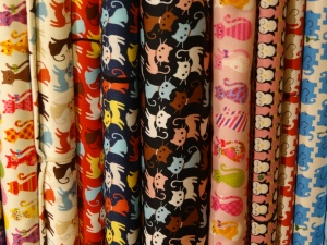 Nunoya meow fabric